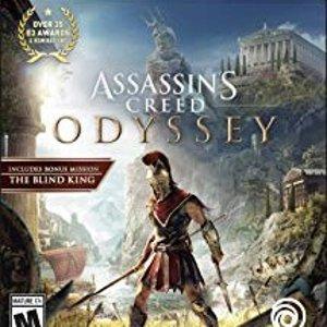 $24.99(原价$59.99)热门新作《刺客信条 奥德赛》PS4 / Xbox 实体版