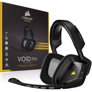 $47.99官翻 Corsair VOID 无线 Dolby 7.1音效 RGB游戏耳机