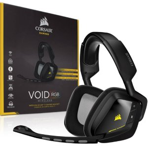 $47.99Refurbished Corsair VOID Wireless Dolby 7.1 RGB Gaming Headset