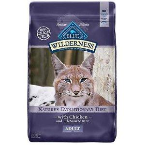 Blue Buffalo Wilderness鸡肉味成年猫粮 12磅