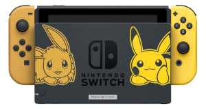 Nintendo - Switch Pikachu & Eevee Edition with Pokémon