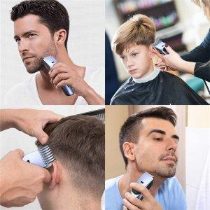 低至$11.89收电动铲(原价$15.99)黑五价:宅家理发工具合集 收电动剃须 剃头多用刀 专业美发剪