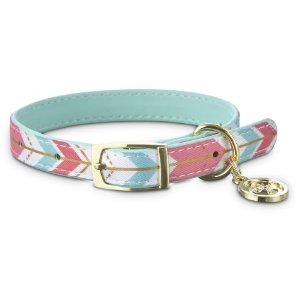 BOND & CO.Gold Chevron Small Dog Collar, XXS | Petco