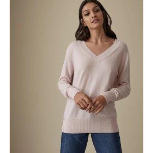 Reiss100%纯羊绒毛衣