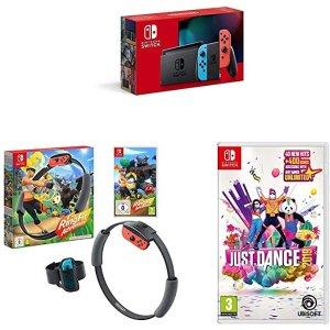 Nintendo健身环大冒险+Just Dance2019划算礼包
