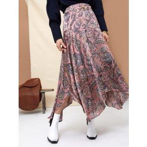 Ghospell Set Free Midi Skirt