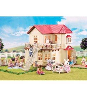 $78.34Calico Critters 森贝儿家族豪华灯光玩具屋套装