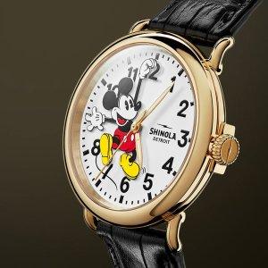 低至5折 米老鼠方表补货Disney 手表热卖,学习利器公举款$13
