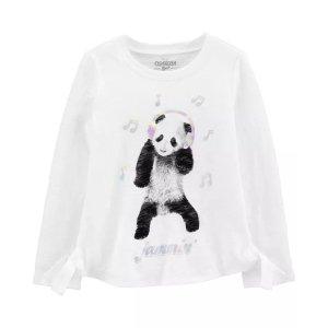 OshKosh B'goshSide-Tie Panda Tee
