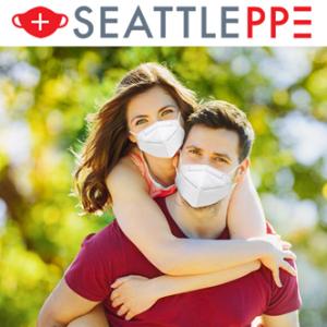 全场7折热卖+评论抽奖SeattlePPE CDC检测99.7%过滤KN95、N95、儿童口罩等防疫品