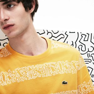 4a7e242c LacosteMen's Keith Haring Print Cotton T-shirt. $80.00. Lacoste ...