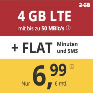 月租€6.99 代号入网送€6.8