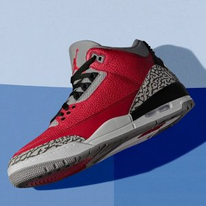 """15日美东10点 $200+包邮Air Jordan 3 Unite """"红水泥""""配色即将出炉"""