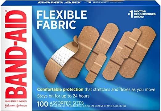 Band-Aid 多种尺寸创可贴100张
