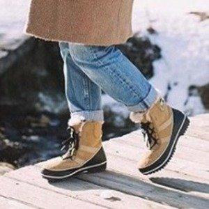 低至5折+额外8折Sorel 加拿大官网精选男、女式冬靴、羽绒服等热卖