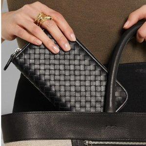 85折 £170收拼色卡包BOTTEGA VENETA 精选美包美鞋大促 低调又奢华
