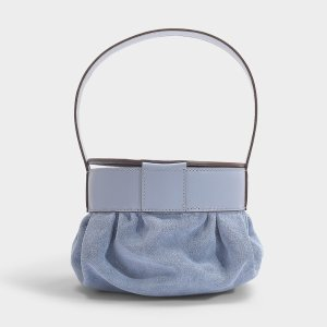 Manu Atelier 雾霾蓝菜篮子包
