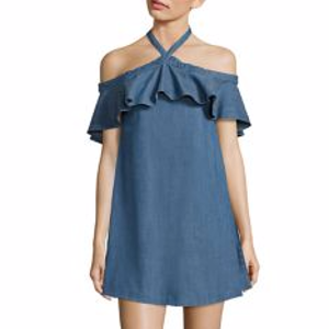 2e0a3ce27b9d1d Alice + Olivia Alyssa Off-The-Shoulder Halter Top @ Saks Fifth ...