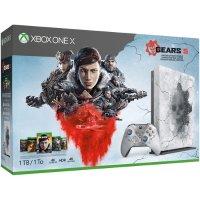 Microsoft Xbox One X 战争机器5 限量版 套装