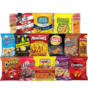 7折 $13.29 一袋只要$0.33Ultimate Snack 综合零食大礼包 40包装