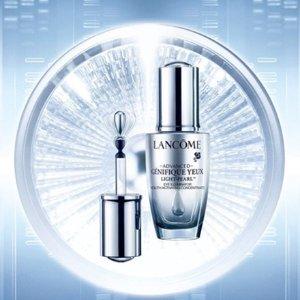 无门槛7.8折 £38收大眼精华Lancome 精选护肤产品热促 收大眼精华、小黑瓶眼霜