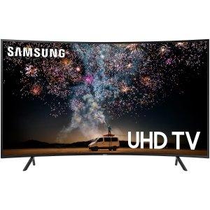65吋 $599 55吋 $459黑五开抢:SAMSUNG RU7300 曲面4K 超高清 HDR 智能电视