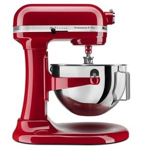 KitchenAidEmpire Red Professional 5™ Plus Series 5 Quart Bowl-Lift Stand Mixer KV25G0XER | KitchenAid