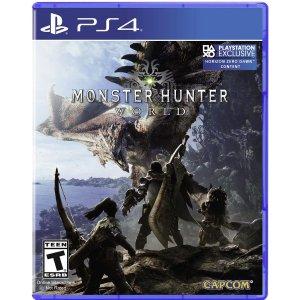 怪物猎人 世界 仅需$14.99PS4 / Xbox One 游戏折上折 当日店取享额外7.5折