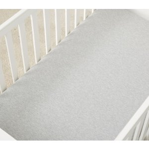 west elmCuddle-Up Jersey Crib Fitted Sheet