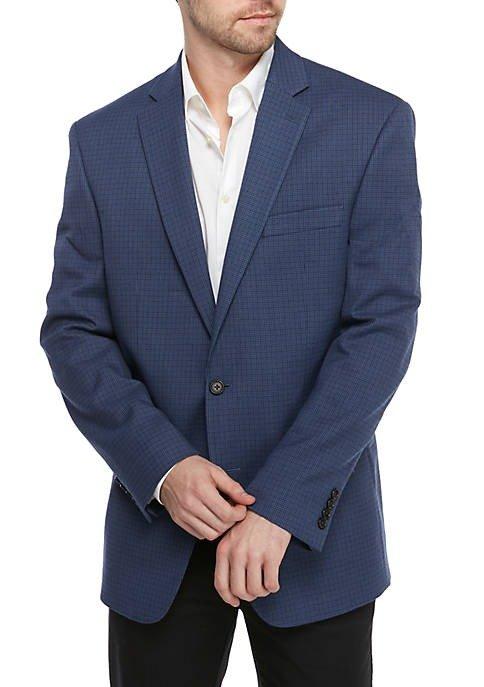 Blue Houndstooth 西装外套
