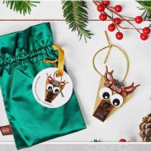 Free Reindeer OrnamentWith $50+ Purchase @ LEGO Brand Retail