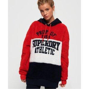 Superdry女士毛绒款卫衣