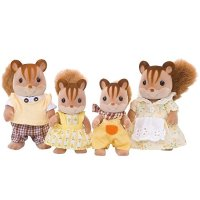Calico critters 花栗鼠一家人