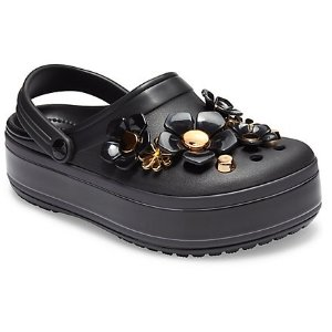 CrocsCrocband™ Platform Metallic Blooms Clog