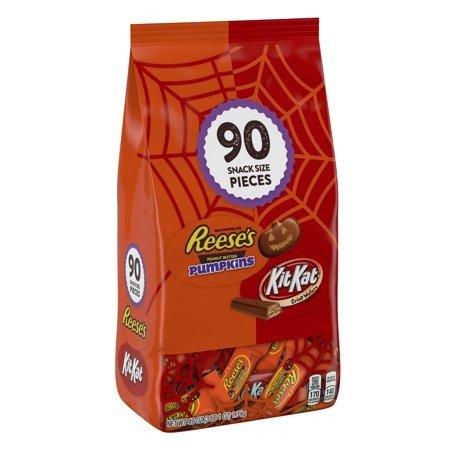 花生酱夹心巧克力+KitKat 90块装