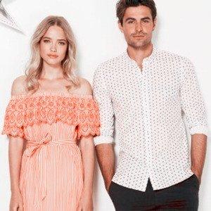 低至4折 + 额外5折 前所未有的折扣限今天:French Connection官网  精选时尚美装促销