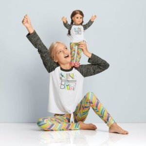 American GirlShine Bright Pajamas for Girls & 18-inch Dolls | American Girl