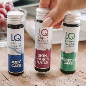 7折 10瓶装$32英国品牌 LQ Liquid海洋胶原蛋白护肤饮品(10 x 50ml)