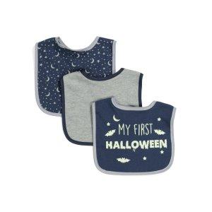婴儿围兜3件套