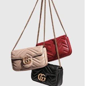 £520收老花链条包 Supermini白色罕见补货Gucci  Supermini包包大搜罗 Marmont、倪妮同款酒神有货