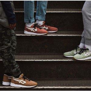 低至5折ASICS 全线运动潮鞋限时促销
