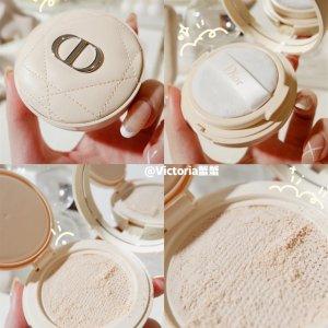 Dior定妆补妆~ 颜值满分奶白皮革气垫蜜粉