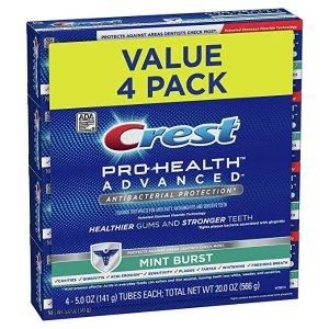 CrestPro-Health 薄荷牙膏5oz 4支装
