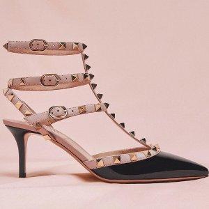 低至7折+额外9.5折 铆钉高跟鞋$500+收Valentino 母亲节大促 新款美鞋、美包特卖