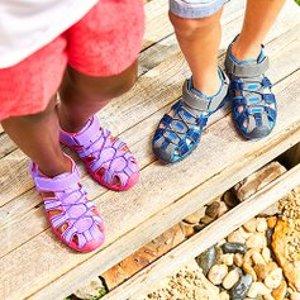 低至$9.99最后一天:Zulily 夏季玩水必备鞋款热卖 透气、防水,玩转夏季