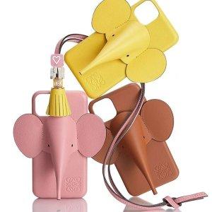 低至5折 收封面同款手机壳Loewe 季末大促 收网红菜篮子托特包、大象手机壳