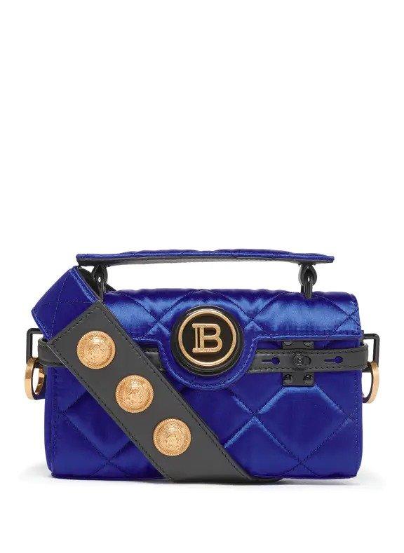 B logo单肩包