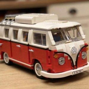 Lego绝版老款大众 T1 旅行车