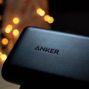 低至6折Anker 超耐用手机iphone数据线、充电宝、蓝牙耳机闪促