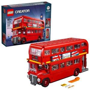 史低价:LEGO 百变高手系列 伦敦巴士 10258